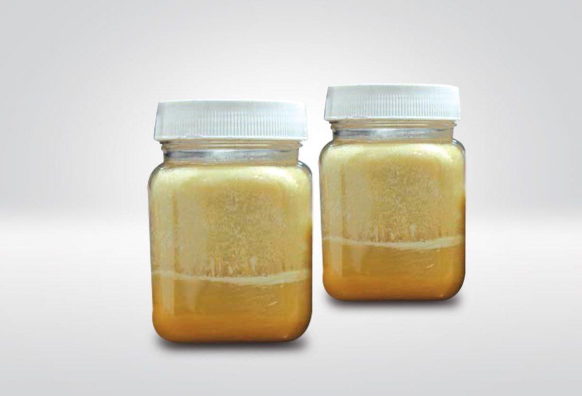 palm fatty acid distillate in jars
